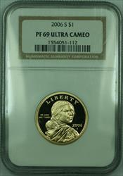 2006-S Proof Sacagawea Dollar $1 NGC  DCAM