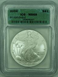 2004 American  Eagle S$1  ICG