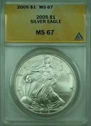 2005 American  Eagle S$1  ANACS