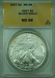 2007 American  Eagle S$1  ANACS