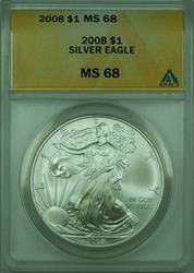 2008 American  Eagle S$1  ANACS
