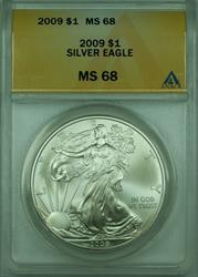 2009 American  Eagle S$1  ANACS (A)