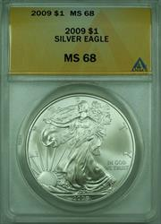 2009 American  Eagle S$1  ANACS (B)