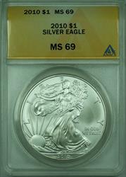 2010 American  Eagle S$1  ANACS