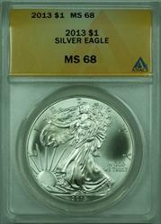 2013 American  Eagle S$1  ANACS