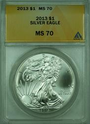 2013 American  Eagle S$1  ANACS (A)