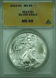 2013 American  Eagle S$1  ANACS (B)