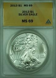 2013 American  Eagle S$1  ANACS (D)
