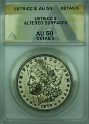 1878 CC Morgan   $1  ANACS Details Altered Surfaces