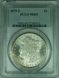 1879 S Morgan   $1  PCGS