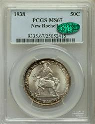 1938 New Rochelle PCGS MS-67 CAC