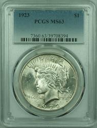 1923 Peace   $1  PCGS (29) A