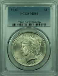 1923 Peace   $1  PCGS (29) C