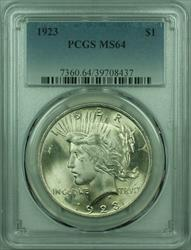 1923 Peace   $1  PCGS (29) D