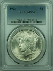 1923 Peace   $1  PCGS (29) E