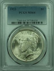 1923 Peace   $1  PCGS (29) H