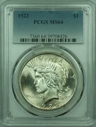 1923 Peace   $1  PCGS (29) N