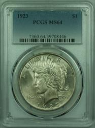 1923 Peace   $1  PCGS (29) Y