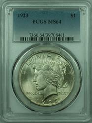 1923 Peace   $1  PCGS Better  (29) AA