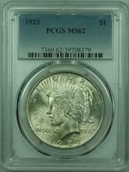 1923 Peace   $1  PCGS Better  (29) C