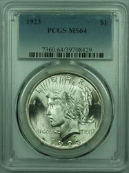 1923 Peace   $1  PCGS Better  (29) L