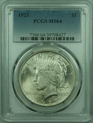 1923 Peace   $1  PCGS Better  (29) M