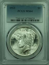 1923 Peace   $1  PCGS Better  (29) P