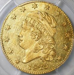 1825/4/1 Capped Head $5 Half Eagle -- PCGS MS61 CAC
