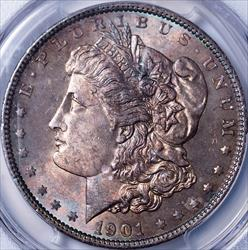 1901 Morgan Dollar -- PCGS MS63+ CAC