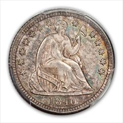 1840 SEATED H10C PCGS MS65