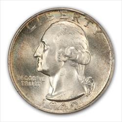 1940-D  WASHINGTON 25C PCGS 67+ CAC