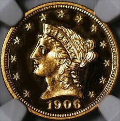 1906 $2.5 Liberty -- NGC PF66 Cameo