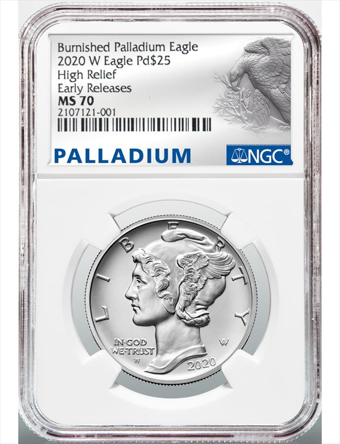 2019 american eagle one ounce palladium reverse proof coin