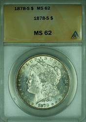1878 S Morgan   $1  ANACS