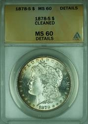 1878 S Morgan   $1  ANACS Details (Better )