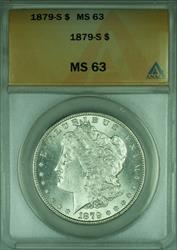 1879 S Morgan   $1  ANACS