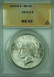 1923 S Peace   $1  ANACS