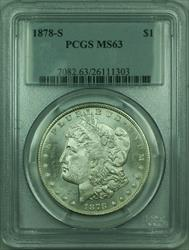 1878 S Morgan   S$1 PCGS (30)