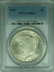 1922 Peace   S$1 PCGS (30)