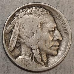 1913-D Type 2 Buffalo Nickel, Nice Circulated Key Date