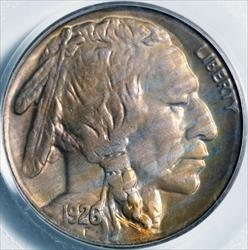 1926-S Buffalo Nickel -- PCGS MS65