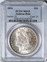 1894 Morgan Dollar -- PCGS MS65