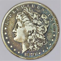 1879-S Rev. of '78 Morgan Dollar; VAM-39, Top-100; Nice VF+