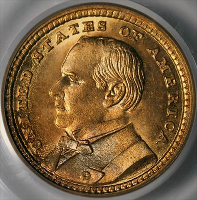 1903 McKinley G$1 -- PCGS MS66 CAC