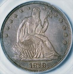 1878-S Seated Half Dollar -- PCGS MS63