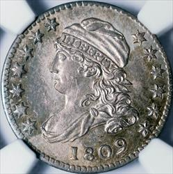 1809 Capped Bust Dime -- NGC MS64+