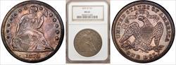 1870-CC $1 MS62 NGC