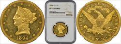 1894-O $10 MS62 NGC