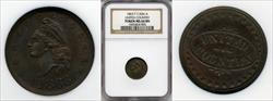 1863 Token F-1/436 a UNITED COUNTRY MS64BN NGC