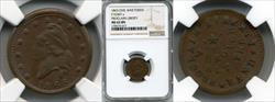 1863 Token F-9/407 Copper Proclaim Liberty MS62BN NGC